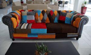 ספה צבעונית