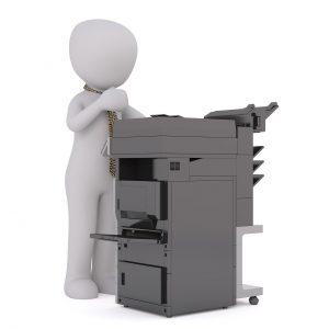 מדפסת ישנה