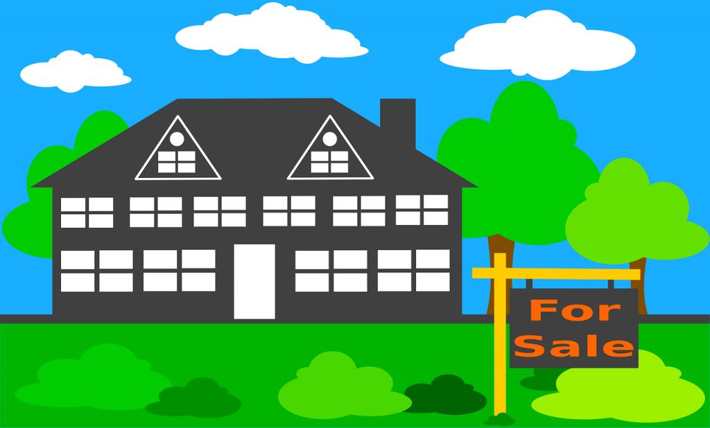 בית מצויר למכירה