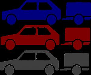 מכוניות מחוברות לנגררות