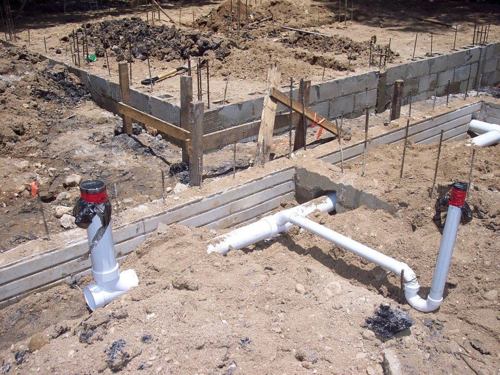 חפירה לצינור הראשי