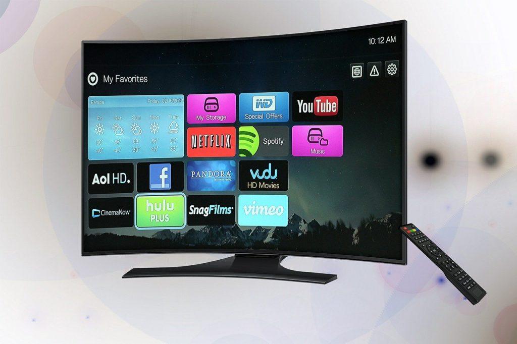 טלוויזיה חכמה ומשופעת
