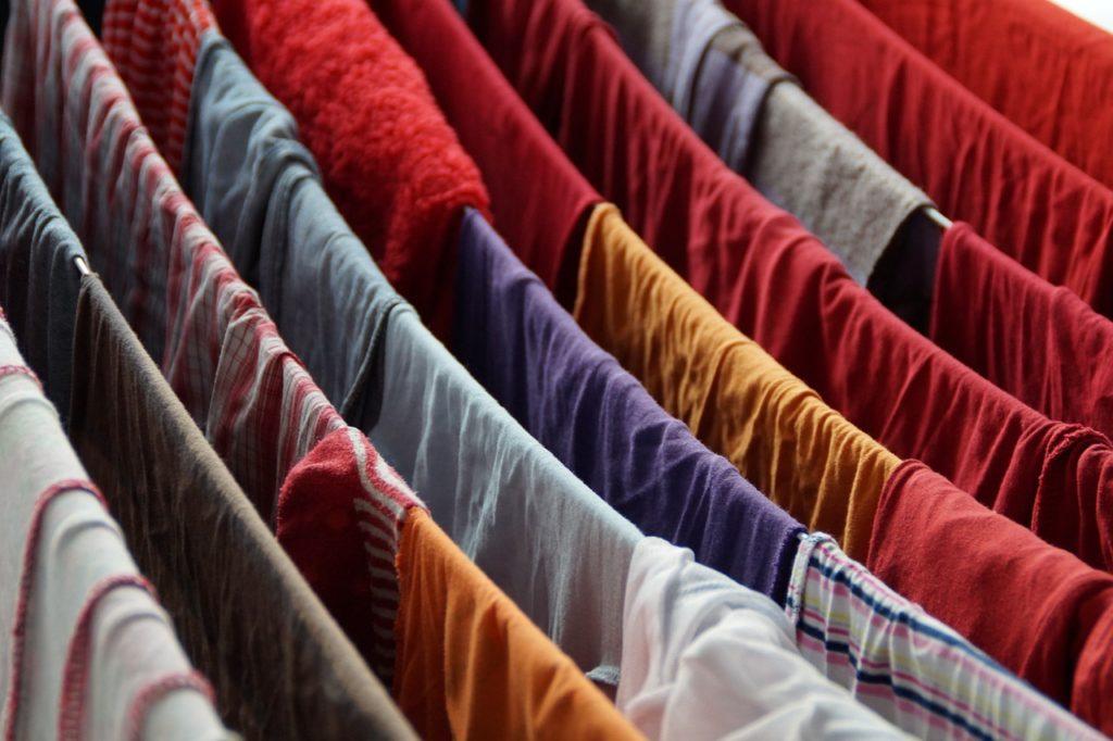 בגדים בייבוש