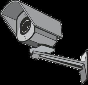מצלמת אבטחה ראשית