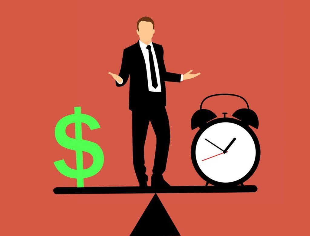 שעון וסימון של כסף