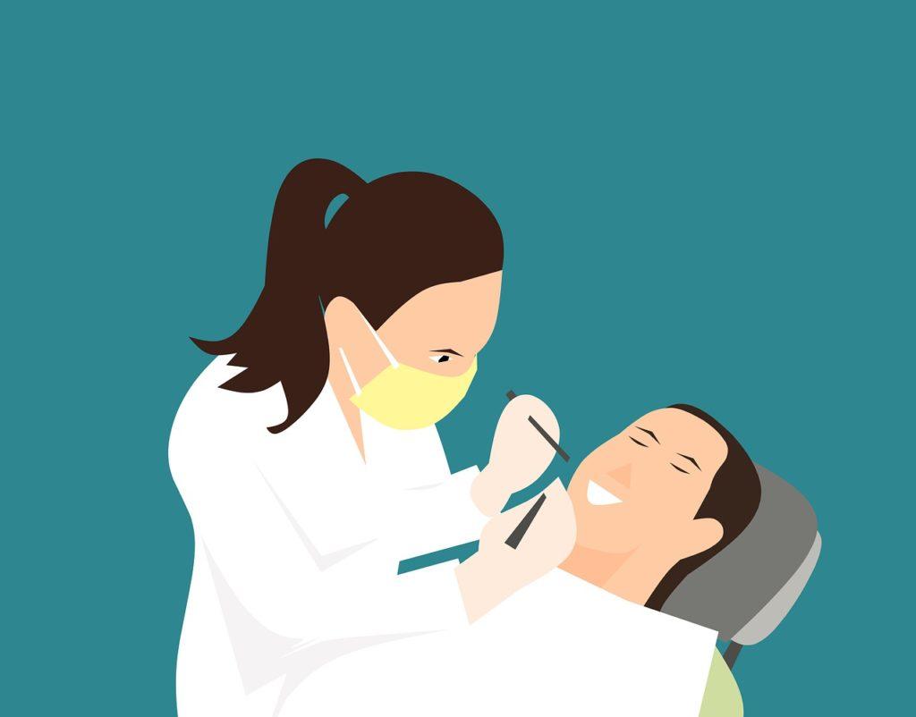רופאה ומטופל