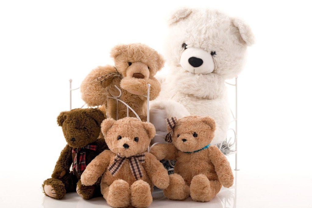 מגוון של דובים