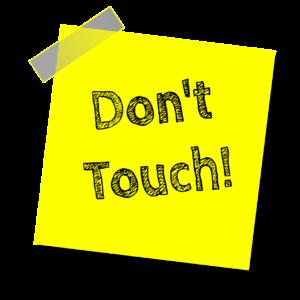 לא לגעת
